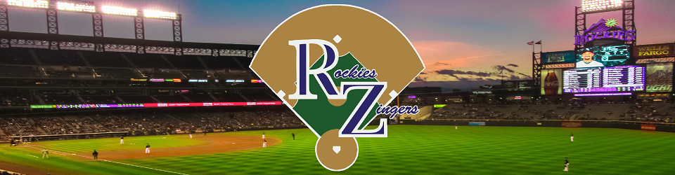 Rockies Zingers  Colorado Rockies Baseball