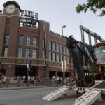 Coors Field Water Main Break