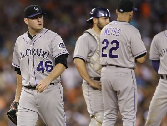 Matzek's roughest outing of the season, courtesy of the Detroit Tigers (AP)
